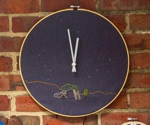 Constellation Clock by Sophie Adams