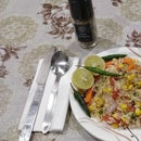 Butter rice salad