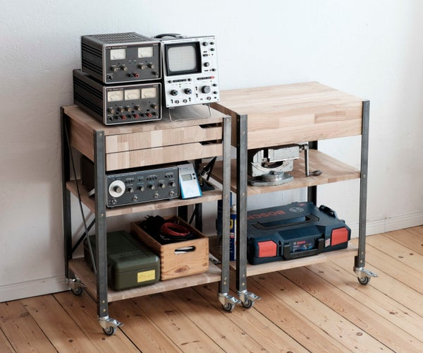 Workbench on Wheels