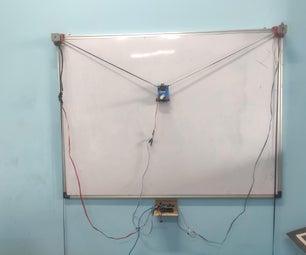 垂直x-y绘图仪||绘图机器人||Arduino绘图仪