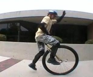 Unicycle Tutorial: Big Wheel Riding!