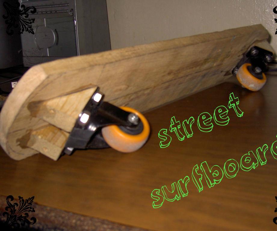 street surfboard