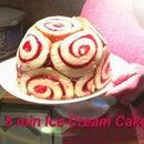 Great British Baking Hack: 5 Min Ice Cream Cake
