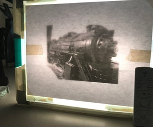 Glass-Topped Tracing Light Box