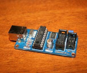 Atmega Programming With USBtinyISP and Arduino