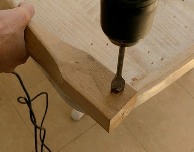 Drilling the Bolt Head Countersink
