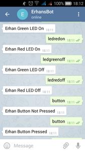 Telegram Control Application