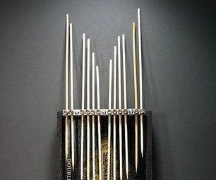 即时拇指钢琴:如何制作一个设置的螺丝碎片片