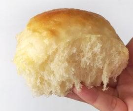 Easy Fluffy Potato Dinner Rolls