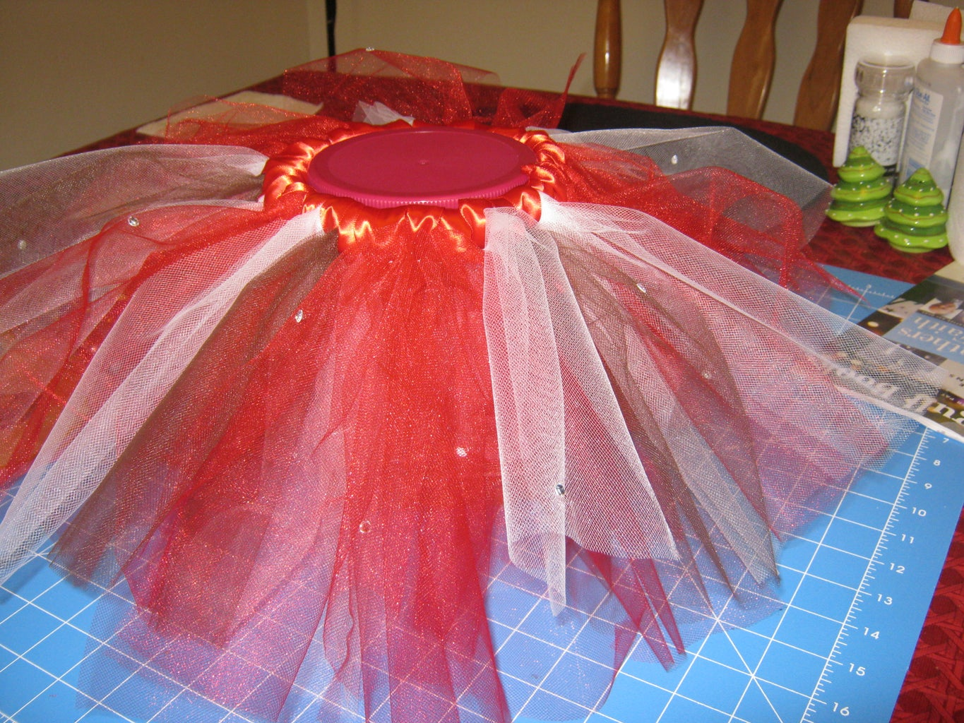 How to Make a NO SEW Tutu Using Pre Cut Tulle for Your Infant/Toddler