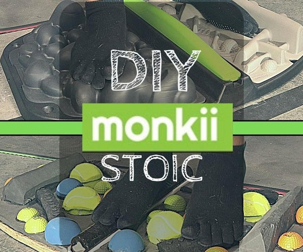 A Gym for Your Feet: 3D Standing Mat (DIY Monkii STOIC)