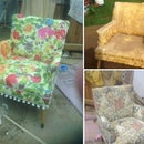 Reupholstering a Chair