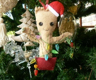 Baby Groot Christmas Tree Ornament
