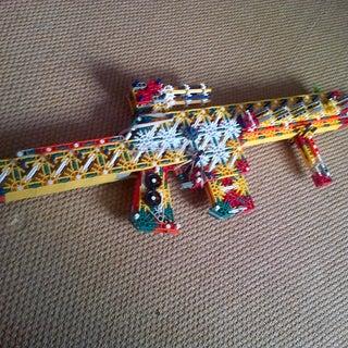 K'NEX RLSW V.1 (Red's Light Support Weapon) (Build)