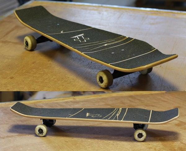 Layout, Cut and Finish a Skateboard