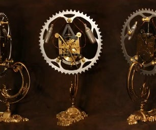 Steampunk Clock - Making of - Tutorial - How to - Desk Clock
