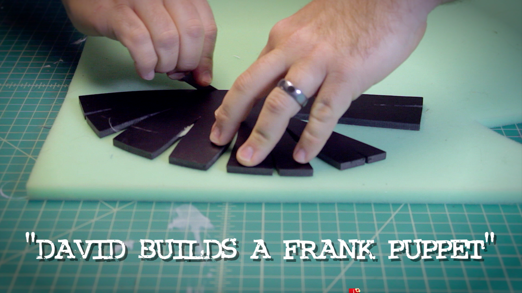 Constructing the Foam Head.