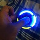 Homemade LED Fidget Spinner