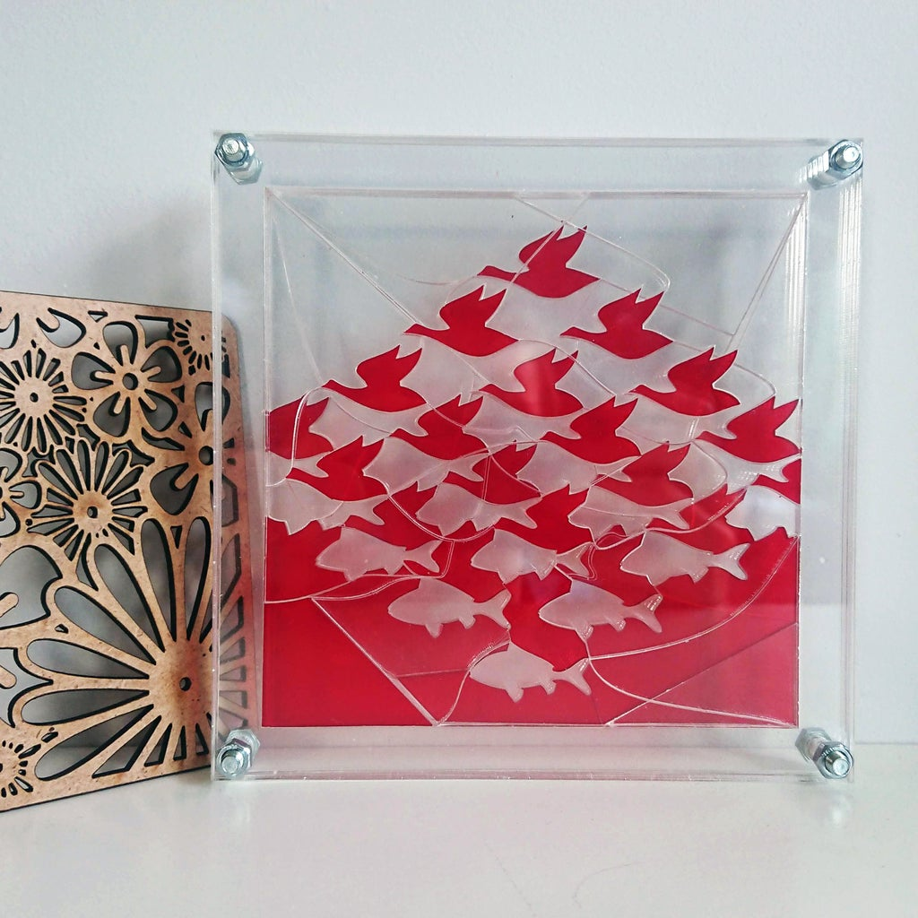 Multi-layer Transparent Puzzles