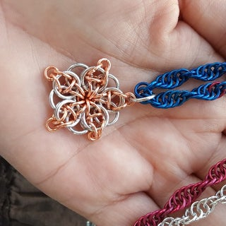 Project 1 - How to Make a 5-pointed Celtic Star