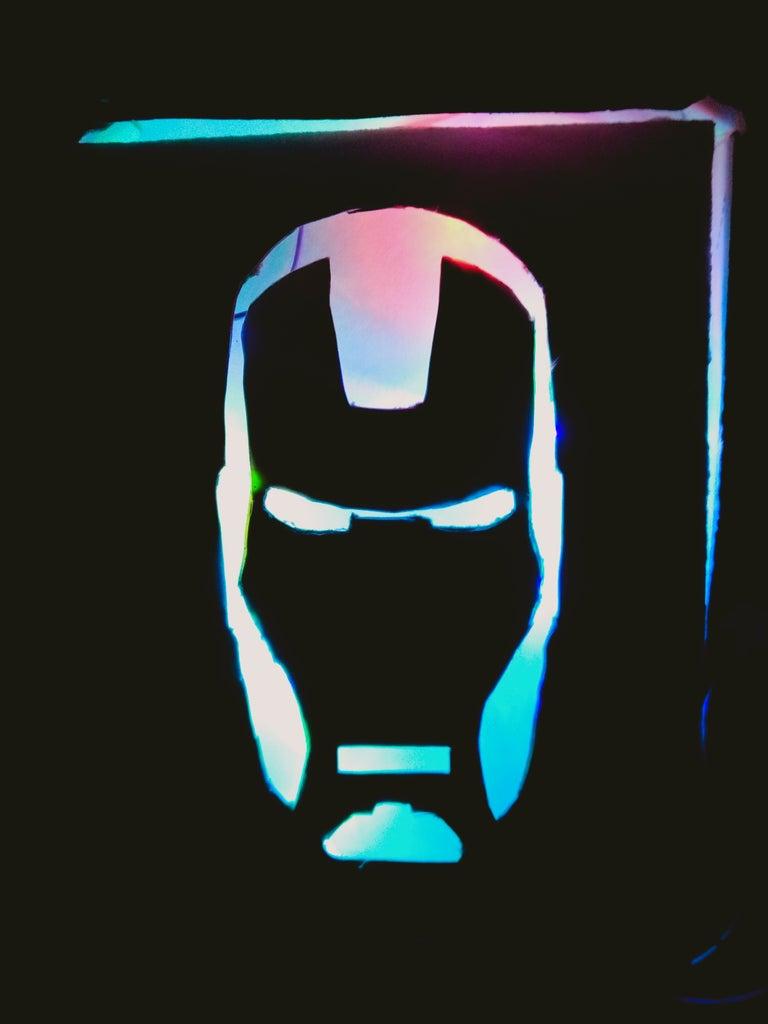 IRON MAN Gaming Lamp