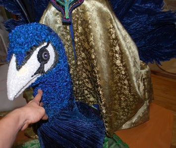 Dry-fitting Peacock Parts