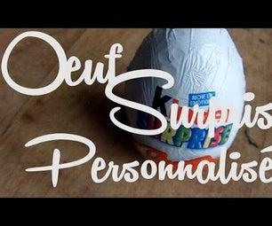 Customized Chocolate Egg Surprise