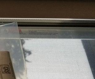 Static Shocks From Plastic Film on Windows
