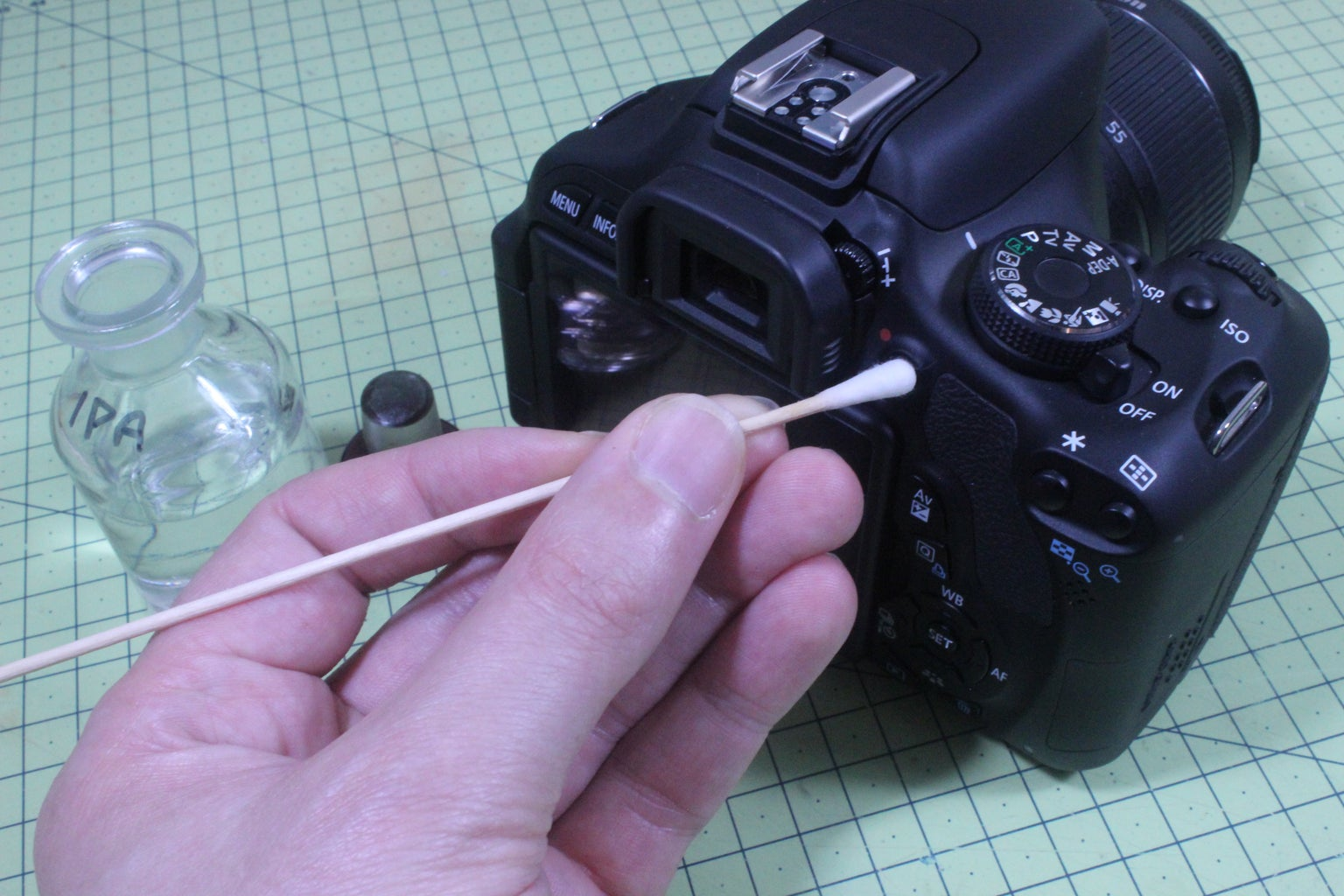 Spring Clean Your Camera [Switch OFF!]