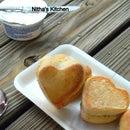 Cute Heart Stuffed Dinner Rolls | Coconut Buns