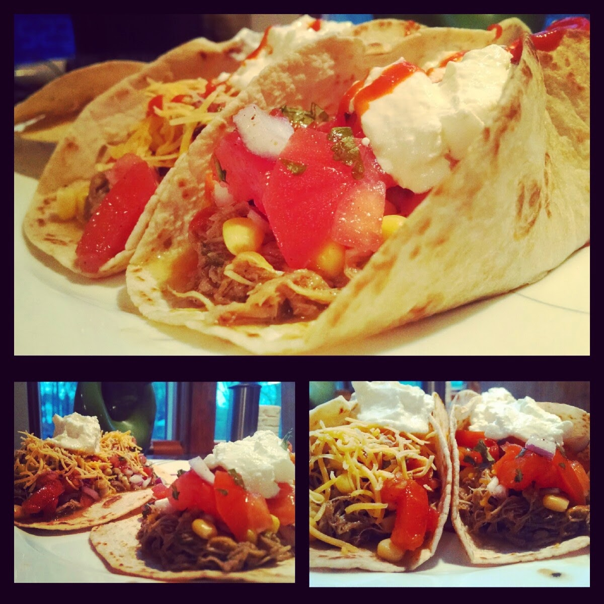 Messy's Pulled Pork Tacos