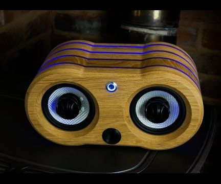 Making An LED Illuminated Oak Bluetooth Speaker