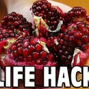 Food Life Hack: How To Deseed A Pomegranate