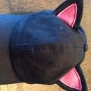 Baseball Cap with Pussycat Ears