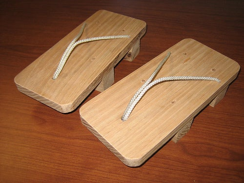 Make Your Own Geta Sandles