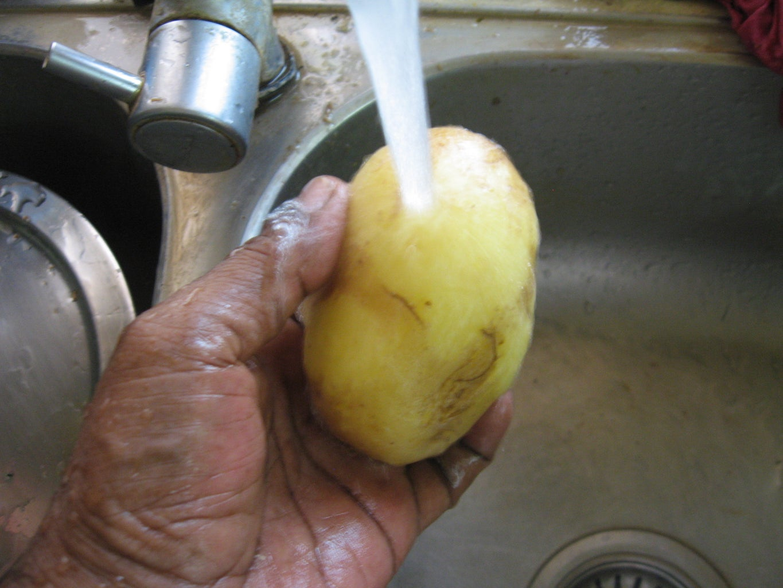 Make Potato Slices