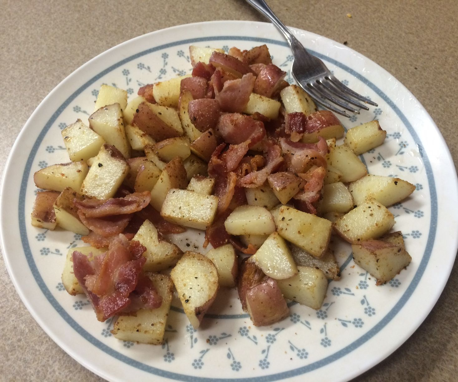 Bacon and Tatos