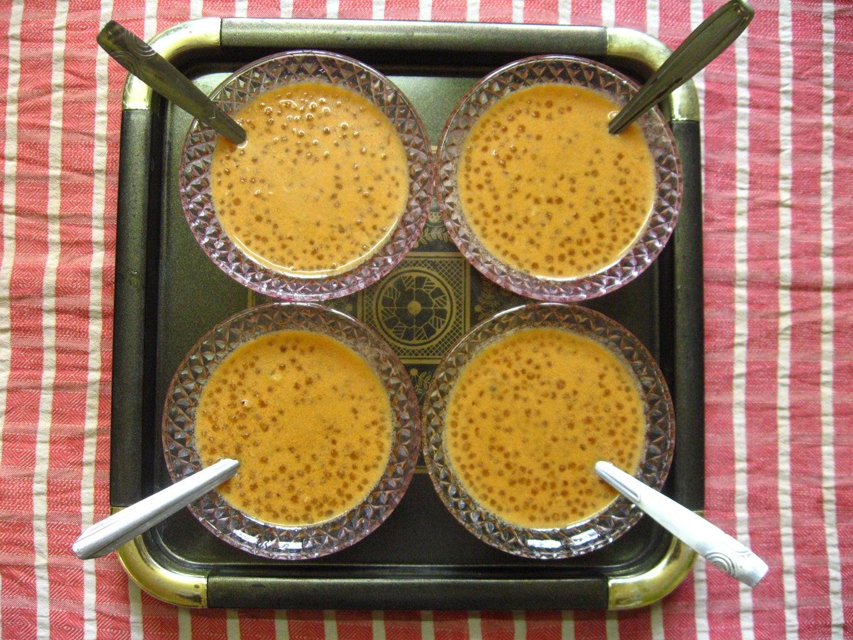 Carrot -Sago Payasam, a Sweet Dish Served As Dessert