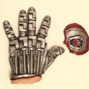 Terminator Glove and Eye
