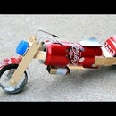 How to Build 9v Battery Powered Motorcycle at Home