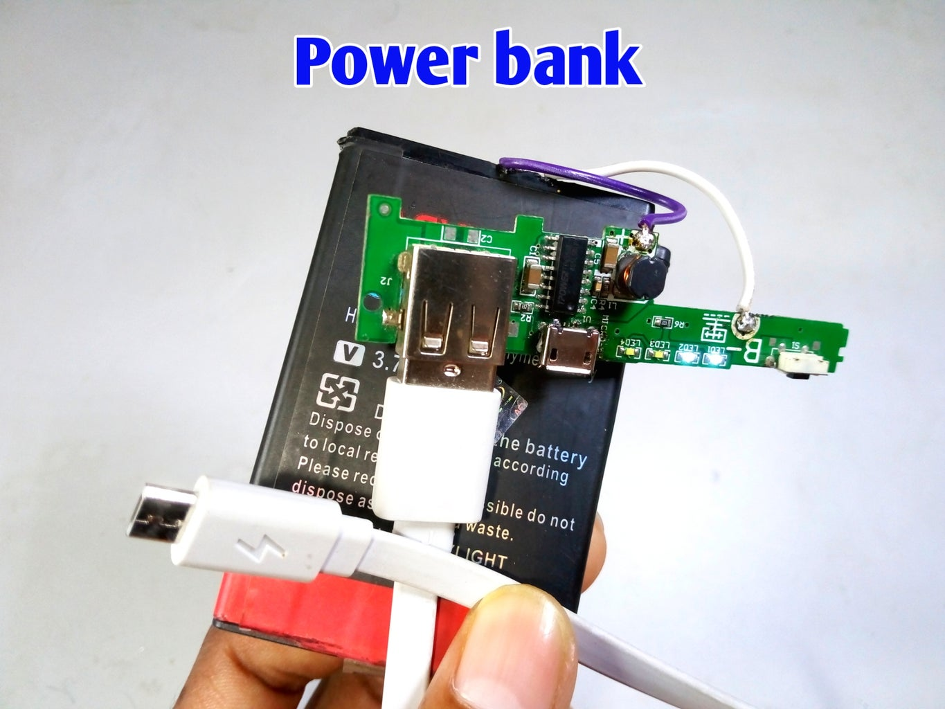 How to Make Power Bank at Home
