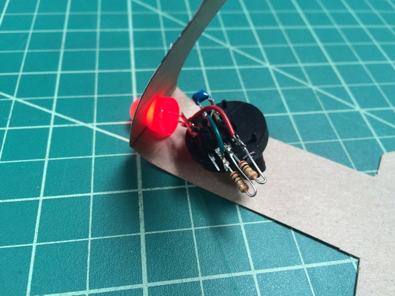Create the Electronics (fast But Messy)