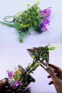 Let's Stick Dry Sticks, Flowers & Thermocol Balls!