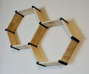 Hexagonal Shelving