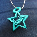 Personalized Necklace Pendant