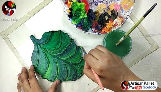 Colour the Leaf