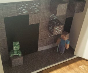 Minecraft in the Cupboard