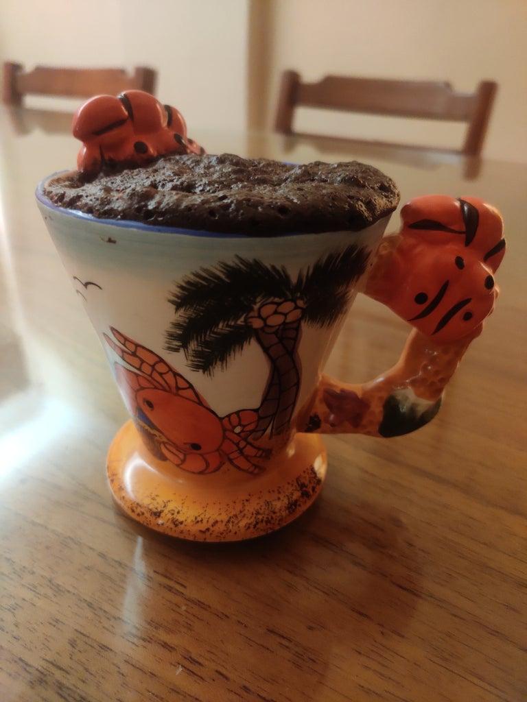 Quick Choco Mug Cake