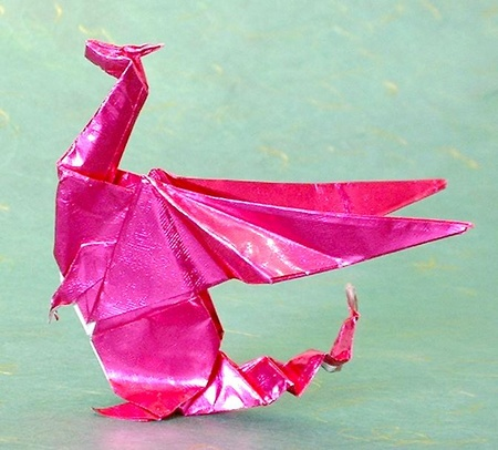 How to make an origami Baby Dragon!