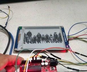 E-paper Display With Arduino/ESP8266